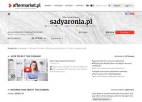sadyaronia.pl