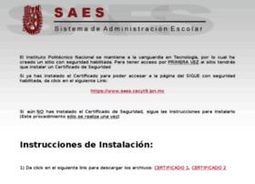 Saes.cecyt9.ipn.mx