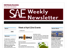 saeweeklynews.umwblogs.org