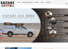 safari4x4hire.com