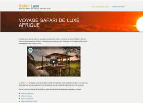safariluxe.com