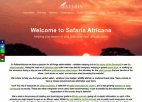 safarisafricana.com