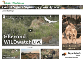 safarisightings.com