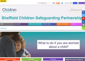 safeguardingsheffieldchildren.org