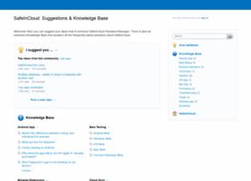 safeincloud.uservoice.com