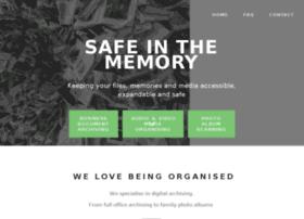 safeinthememory.com