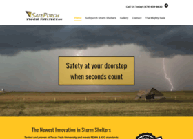 safeporchstormshelters.com