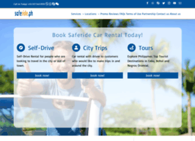 saferidecarrental.com