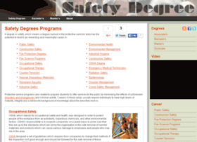 safetydegrees.net