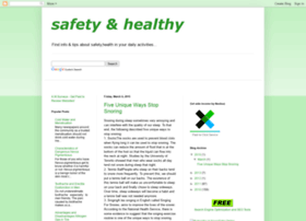 safetyhealthy.blogspot.com