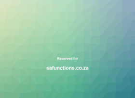 safunctions.co.za