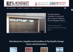 sagaragedoors.co.za