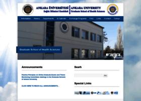 sagbilens.ankara.edu.tr