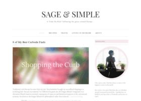 sageandsimple.com