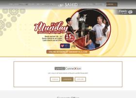 sahidhotels.com
