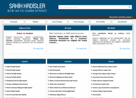 sahihhadisler.com