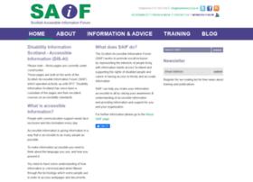 Saifscotland.org.uk