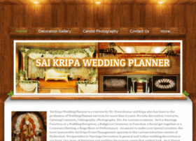 saikripaweddingplanner.weebly.com