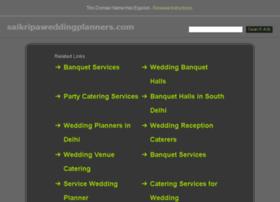 saikripaweddingplanners.com