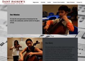 saintandrewsconservatory.org