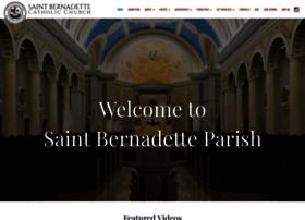 saintbernadette.com