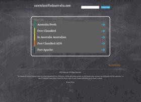 saintclassifiedaustralia.com