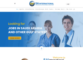 sainternational.us