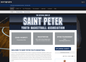 saintpeteryouthbasketball.org