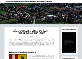 saintpierreenfaucigny.com