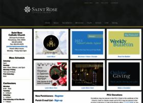 saintroseonline.org