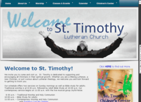 sainttimothylutheran.org