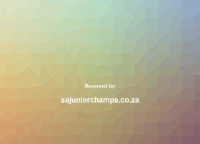 sajuniorchamps.co.za