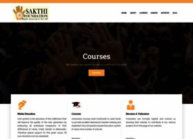sakthifoundation.org