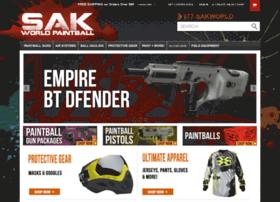 sakworldpaintball.com