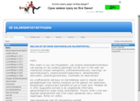 salarisinfostartpagina.nl