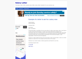 salarylettersamples.blogspot.com