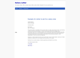 salarylettersamples.blogspot.in