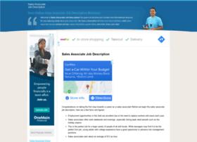 salesassociatejobdescriptions.com