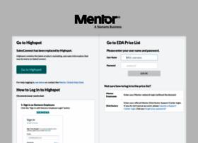 salesconnect.mentor.com