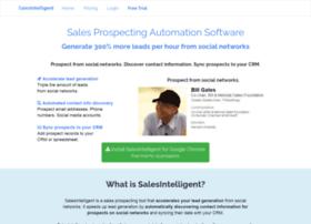 salesintelligent.com