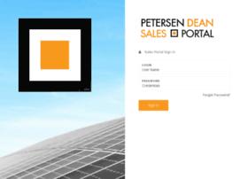 salesportal.petersendean.com