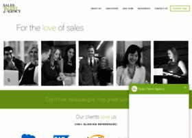 salestalentagency.com
