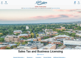 salestax.fcgov.com