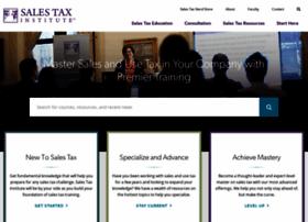 salestaxinstitute.com