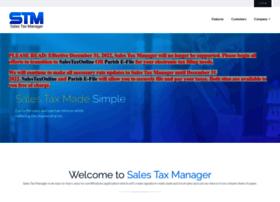 salestaxmanager.com