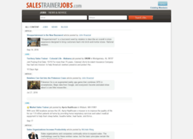 salestrainerjobs.com