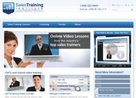 salestraininginstitute.com