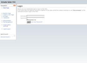 saleswiki.actuate.com