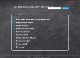 salonbeautyequipment.co.uk