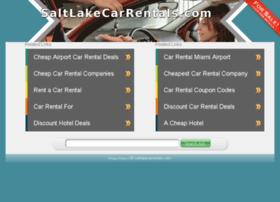 saltlakecarrentals.com